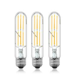 Tubular LED Light Bulb 60 Watt E26 Incandescent Bulb Equival