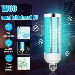 UV 60W Germicidal Lamp LED UVC Bulb E27 Household Disinfecti