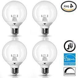 G25 LED Bulb 6W, Warm white  40W LED Vanity Light Globe Bul