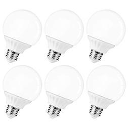LOHAS LED Vanity Light Globe Bulb, 40W Equivalent LED G25 Bu