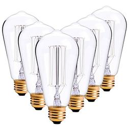 Vintage Edison Light Bulbs 60W Antique Classic Style, Home L