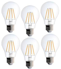 Bioluz LED Vintage 40 Watt Light Bulb, Edison Style Filament
