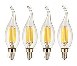 CTKcom Vintage LED Light Bulbs 4W Dimmable C35 Filament Cand