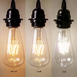 New Vintage Retro Edison E27 2W-8W Screw LED Filament Light