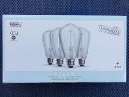Vintage Style DAYLIGHT Clear Glass 7W 800 lum LED Light Bulb