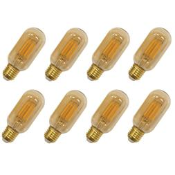 Vintage T14 T45 LED Filament Tubular Light Bulbs Edison E26
