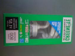 Greenlite 13W Warm White Spiral CFL Bulb, E26 Base