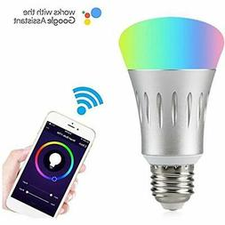 Wifi Smart LED Light Bulb Compatible With Alexa No Hub Requi