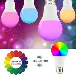 Wifi Smart LED Light Bulb for Alexa Google Home App Remote N