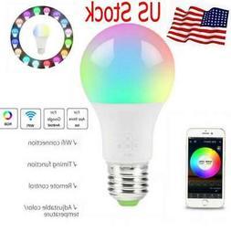 Wifi Smart LED Light Bulb for Amazon Alexa Google Home Multi