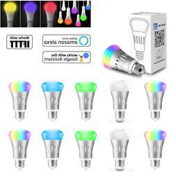 wifi smart light bulb bulbs dimmable led