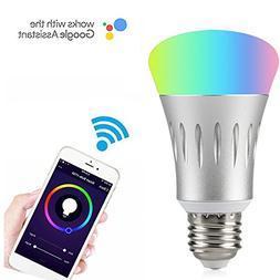 Wifi Smart LED Light Bulb Compatible with Alexa No Hub Requi
