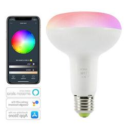 WiFi Smart Light Bulb Dimmable Wake-Up Lights No Hub Require