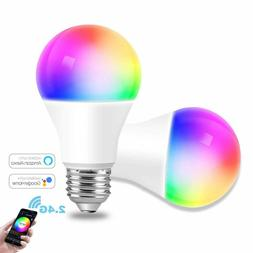 WiFi Smart Light Bulb Works with Alexa,Google Assistant , LE