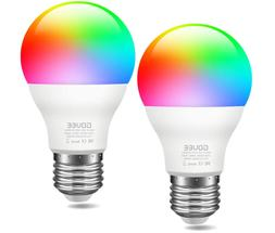 WiFi Smart Light Bulbs, Color Changing Light Bulb Works with