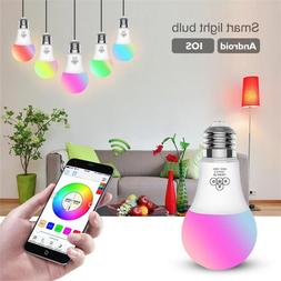 Wifi Smart Multi-Color LED Light Bulb for Amazon Alexa/Googl