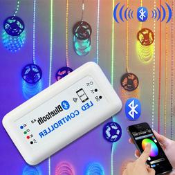 Wireless Bluetooth RGB LED Strip Controller for iOS iPhone A