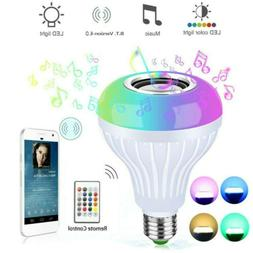 Wireless WiFi Smart Multi-Color Light Bulb Bulbs Dimmable LE