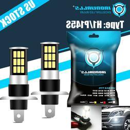 Xenon H1 LED Halogen Headlight Bulbs 6000K Fog Lamps Beam Li