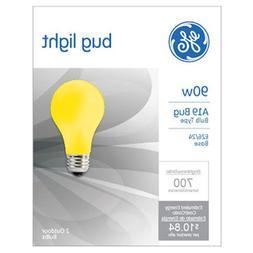 GE Lighting 61435 90 Watt Yellow Bug Light 2 Count