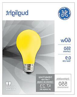 Yellow Bug Light Bulbs, 60-Watt, 2-Pk.