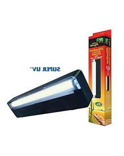 Zilla Reptile Slimline Reptile Lighting Fixture with UVB Lam